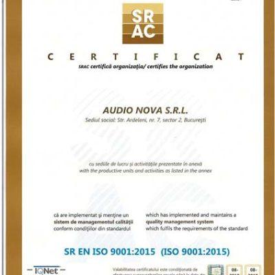 CertificatISO2017