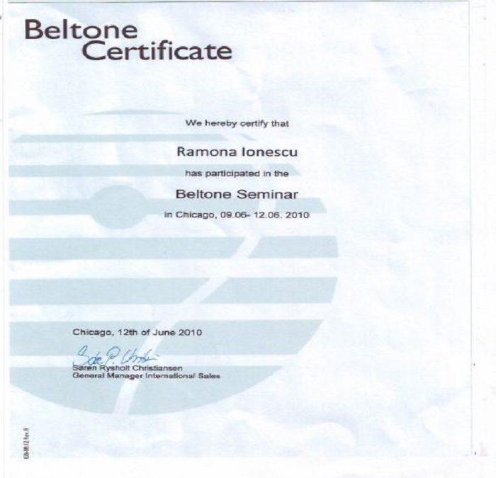 Certificat Ramona Ionescu